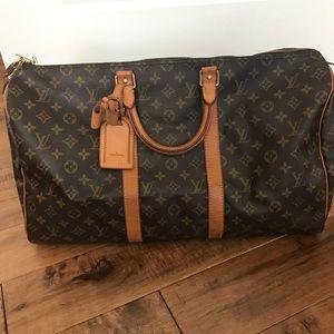 Vintage Louis Vuitton Keepall 50